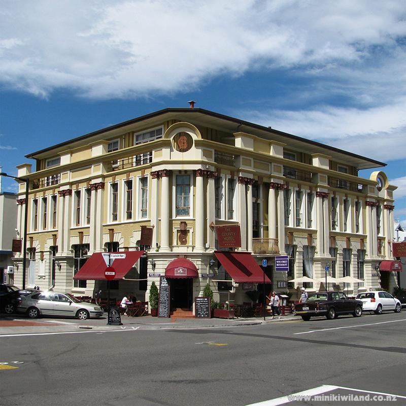 County Hotel Napier New Zealand